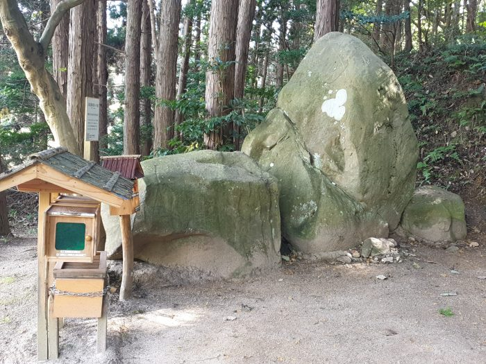 Dora Economou, Mailbox at the entrance of the Underworld in Shimane Japan, smartphone photo